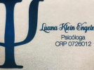 Psicóloga Luana Klein Engelmann  CRP 07/26012
